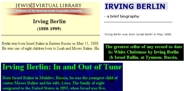 A One-Step Portal for On-Line Genealogy